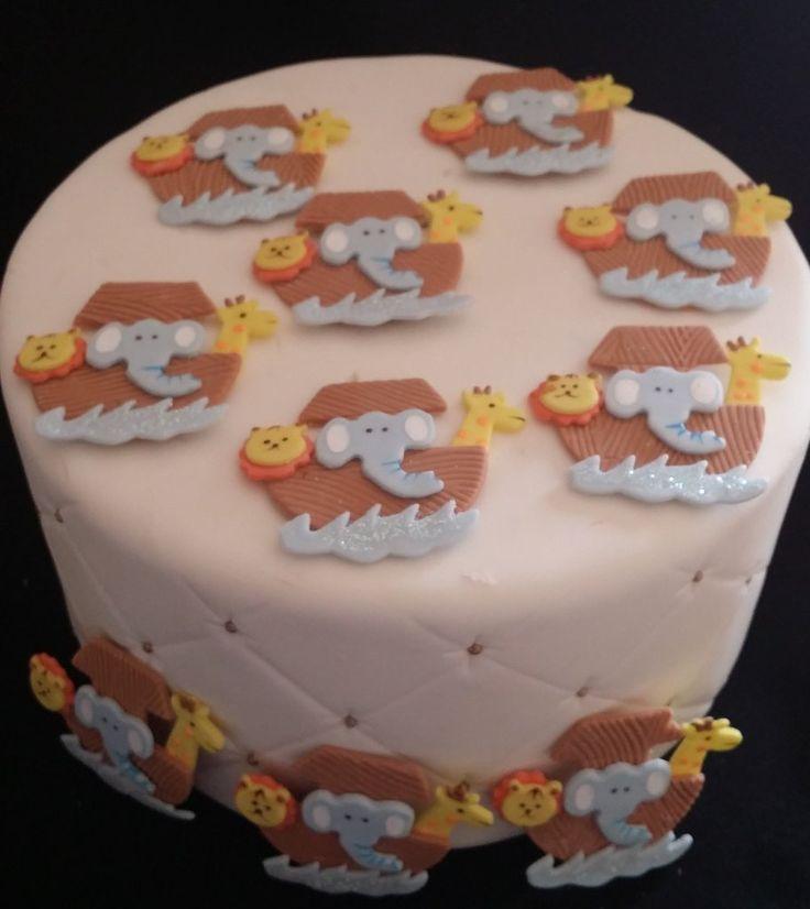 Noah's Ark Favors Decorations, Noah's Ark First Birthday, Noah's Ark Cupcake Toppers, Monkey Decorations, Noah's Ark Baby Shower, Ark with Animals Favor, Noah's Ark Party Theme Decorations