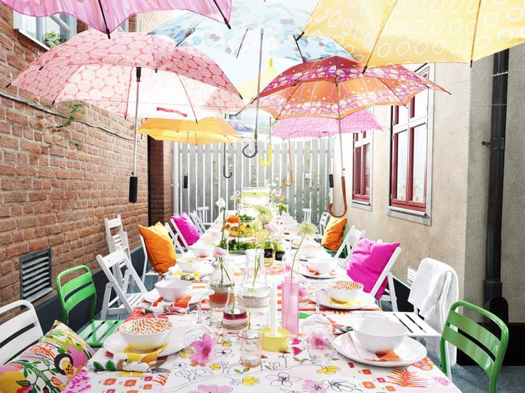 Outdoor Wedding Reception Ideas | backyard party decorating ideas on a budget