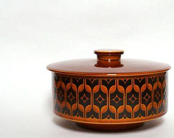 Vintage Hornsea Heirloom Dish With Lid