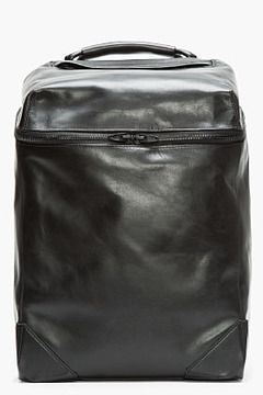 ALEXANDER WANG Black Leather Wallie Backpack on shopstyle.com