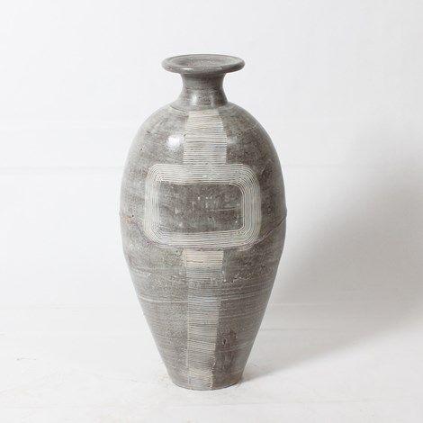 """Josh Vase 28"""" - Grey #9628224 $199.99 www.lambertpaint.com"""