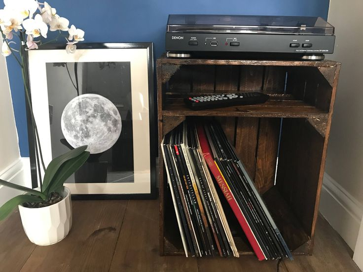 Love a good gift? Get this now! Vinyl/Record Storage - Wooden Apple Crate https://www.etsy.com/listing/533965806/vinylrecord-storage-wooden-apple-crate?utm_campaign=crowdfire&utm_content=crowdfire&utm_medium=social&utm_source=pinterest