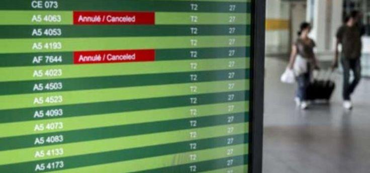 Cancelan vuelos de Air France por huelga de pilotos