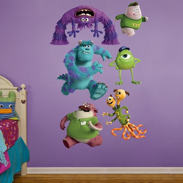 Monsters Inc. Put Your Passion On Display With A Giant Monsters Inc.