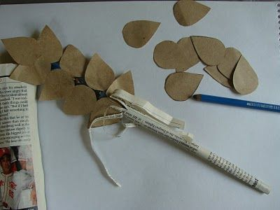ruth & naomi sunday school crafts | Cutouts of Ruth, Naomi and Orpah. The wheat is made up of old magazine ...