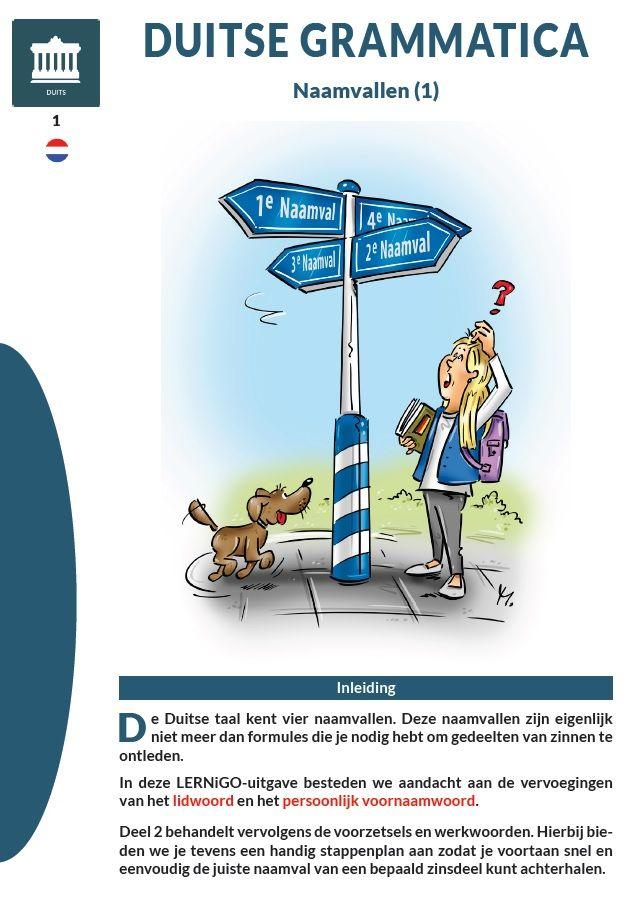 Duitse grammatica - Naamvallen (deel 1) / Categorie: #Duits #Deutsch / (c) LERNiGO BV