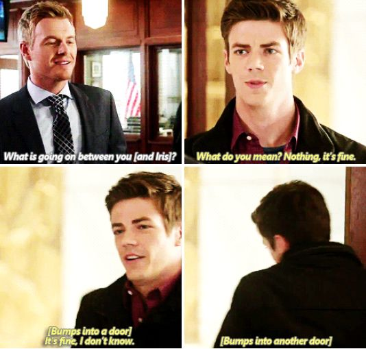 The Flash - Barry and Eddie #1.6 #Season1