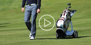 X9 Follow Remote Golf Trolley | Electric Golf Trolleys | Powered Golf Trolley