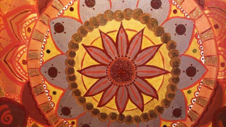 Metta mandala meditation. Details
