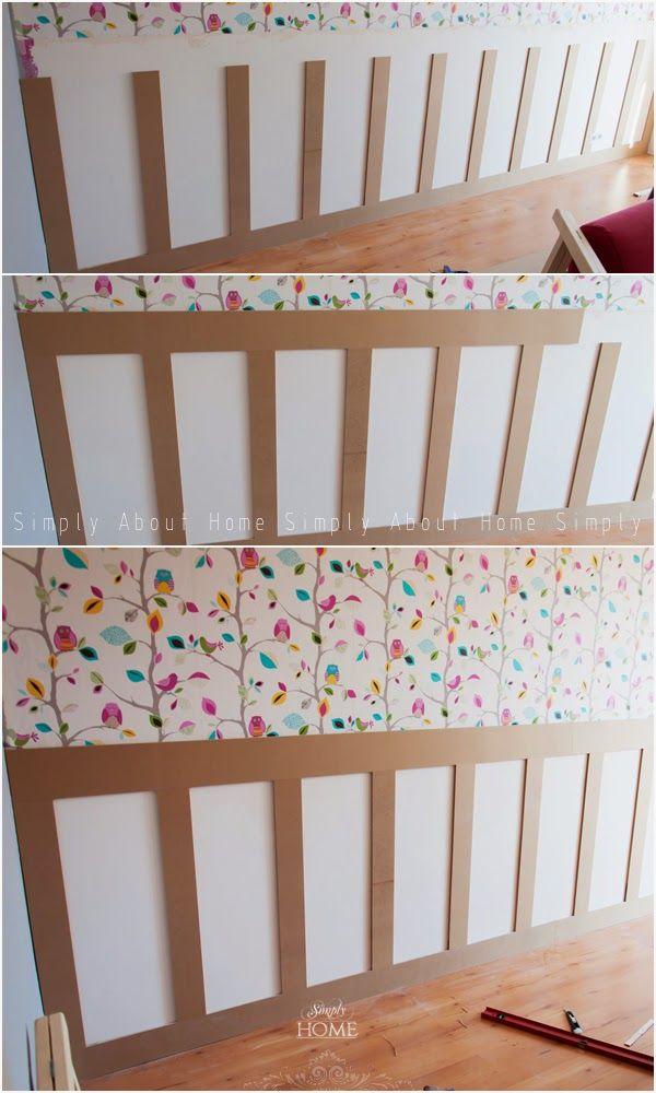 simply about home: Boazeria angielska DIY - metamorfoza pokoju dziecięcego