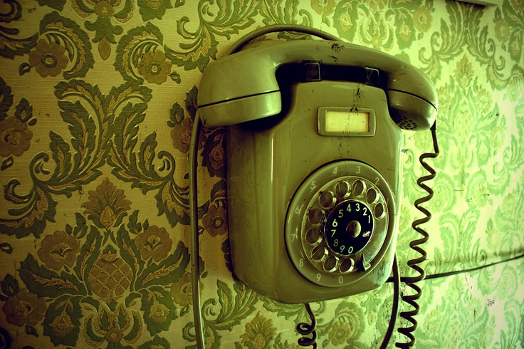 Old wall #Phone