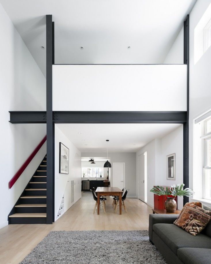 The winner of the Remodelista Considered Design Awards Best Professionally Designed Living/Dining Space is Massim Design Studio of Brooklyn. The firm's pro