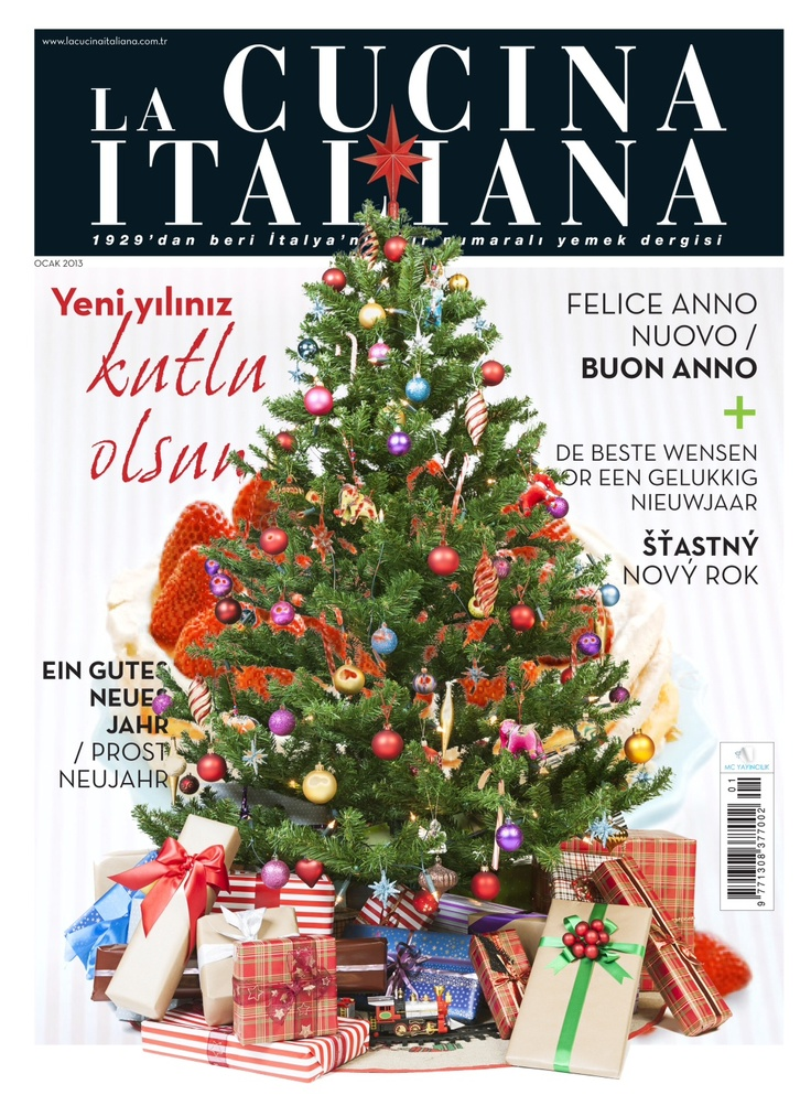 La Cucina Italiana Ekibi Olarak Yeni Yılın Size ve Tüm Sevdiklerinize Sağlık, Mutluluk ve Huzur Getirmesini Dileriz.  Yeni Yılınız Kutlu Olsun. http://lciturkiye.com/statik/dergi