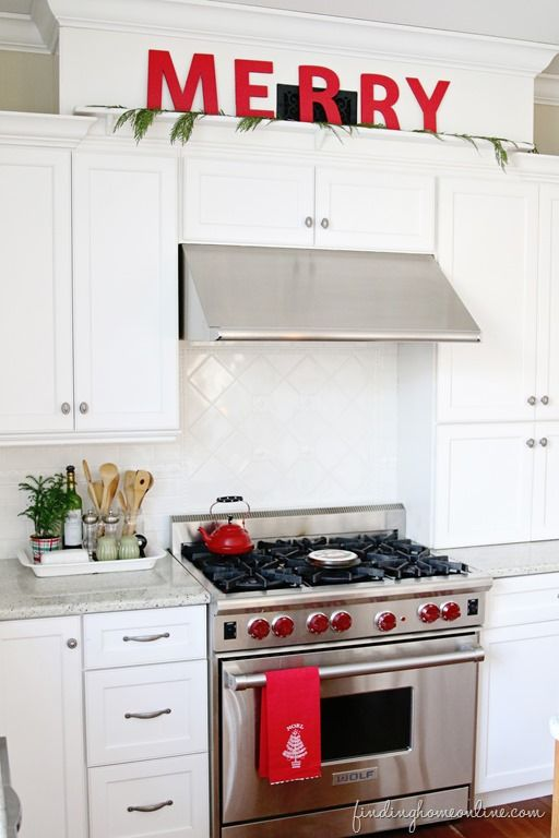 Decorating your Kitchen For Christmas with Finding Home