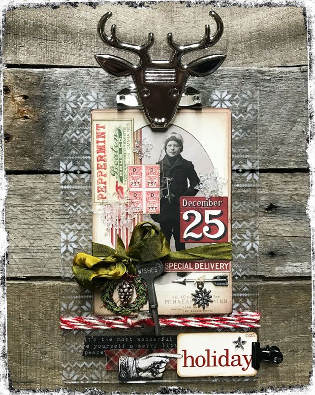 Holiday Project - Oh deer!