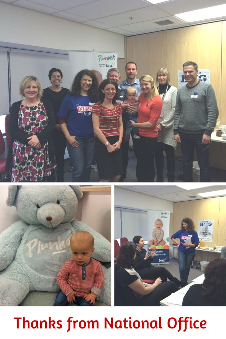 Thank you BNZ for helping Plunket develop a strategy to roll out our financial literacy aid training module. Your help was invaluable! #ClosedForGood2015