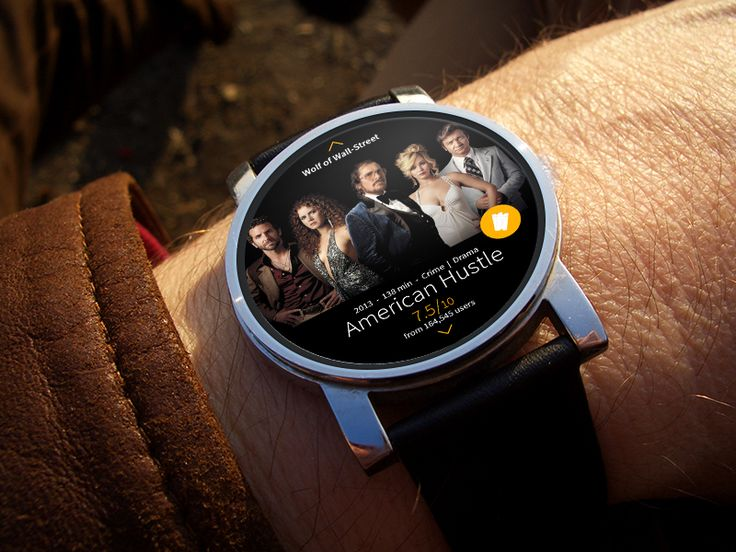 Android Wear interface for IMDB by Bari Ayhan