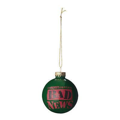 WWE Bad News Barrett Christmas / Holiday Ball Ornament (NIB) (Wade Barrett)