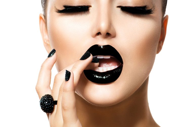 Μαύρα χείλη - Το απόλυτο trend - Makeup of the day