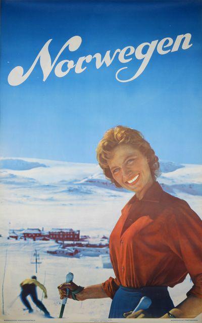 Norwegen Ski