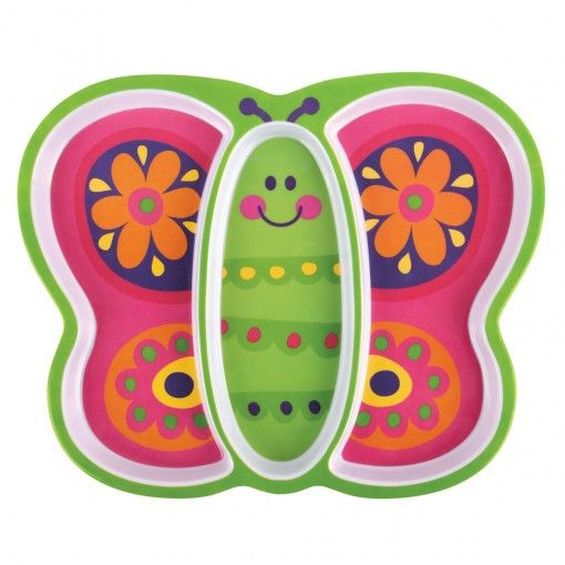 Butterfly Melamine Tray Possum Pie Stephen Joseph Arts and Crafts, Gifts and Toys, Bags and Backpacks