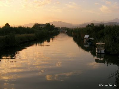 Canal Near Calis Water Taxi - Sale from Fethiye to Çalış. Perfect. :)