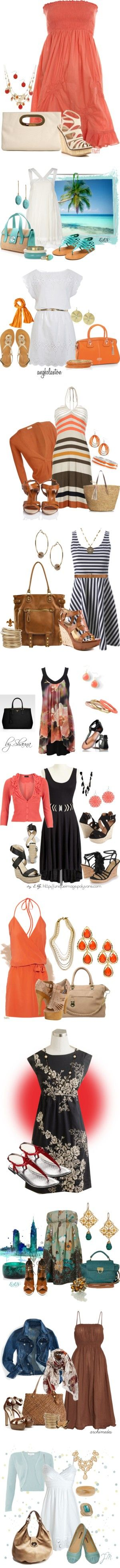 """Summer Dress"" by esha2001 on Polyvore"
