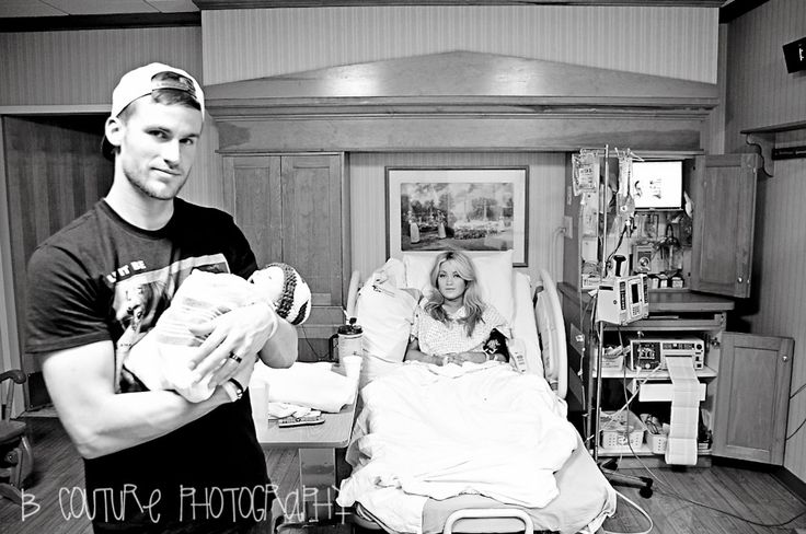 Cute hospital picture! Except I'm pretty sure I won't look that good after childbirth