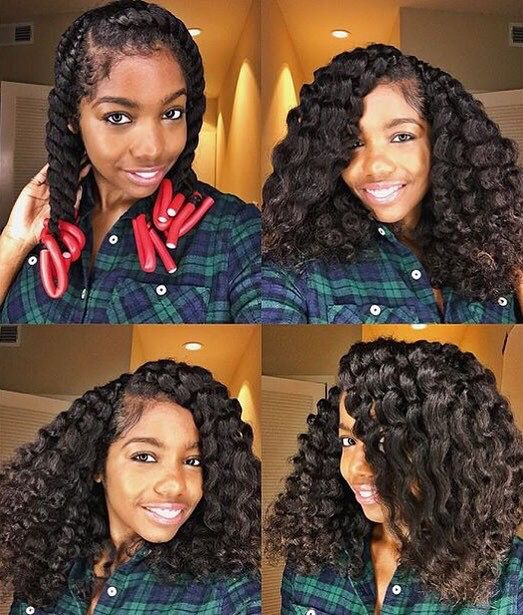 Quick Hairstyles For Kinky Curly Hair : 1953 best black hair styles images on pinterest