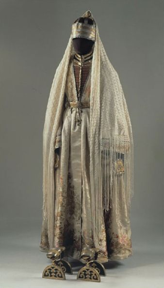 The costume of a noble woman. Kabardin. 1880. from The Russian Museum of Ethnography
