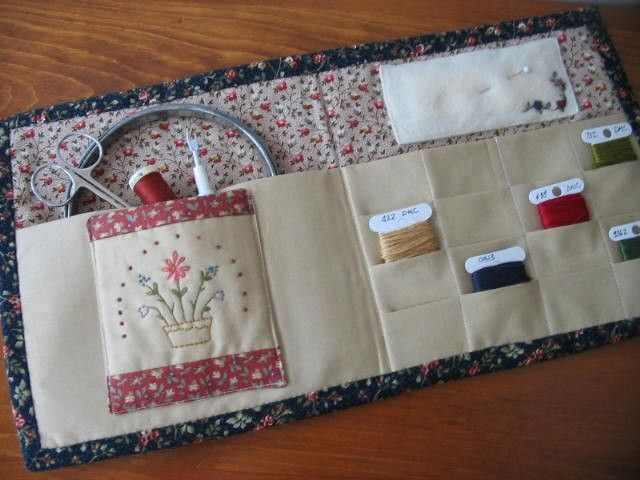 Needlework project carrier | pix only