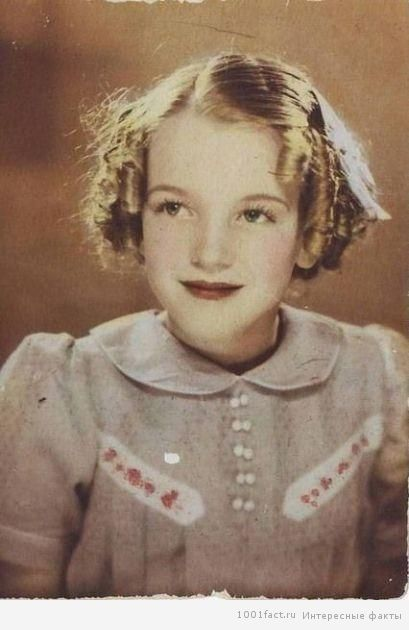 Facts about Marilyn Monroe The real name of Marilyn Monroe – Norma Jean Baker (Mortenson). The mother didn't take care of her daughter, had serious mental problems and financial difficulties, so almost all childhood Norm spent in shelters or with host families.