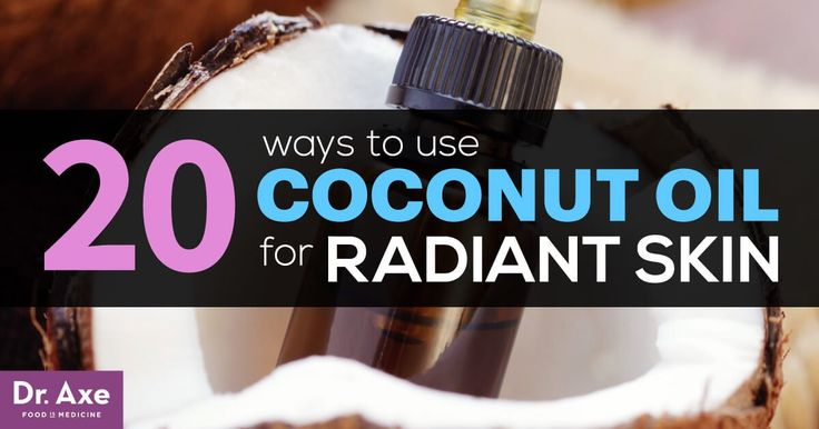Using coconut oil for skin is an all-natural way to eliminate many of the toxic ingredients that are found on drugstore shelves.