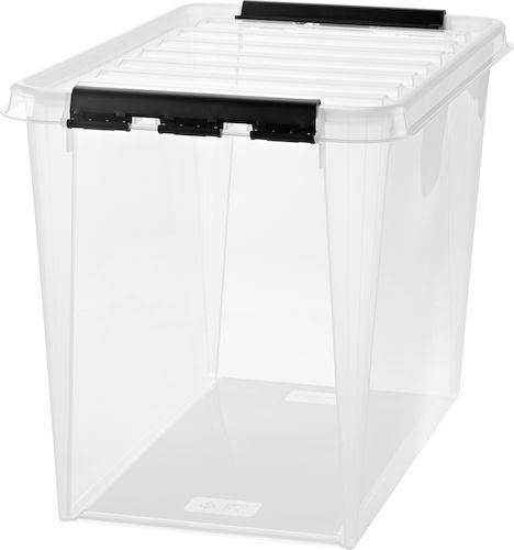 Flera som liknar denna för förvarning av pysselgrejer INTE hö till marsvinen!!! Plast är giftigt!!! 2362030Förvaringsbox SmartStore 65