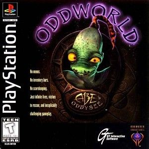 Complete Oddworld: Abe's Oddysee - PS1 Game