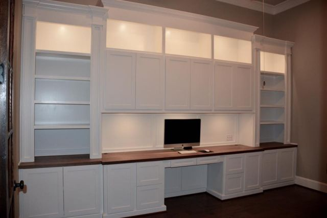 Custom, computer desk, home office, remodeling, remodel, cabinets, Spring, The Woodlands, Houston, Conroe, Tomball, Magnolia, Kingwood, Humble, Cypress, Sugarland, Texas, tx custom-wood-creations.com CWCbyJohn@gmail.com