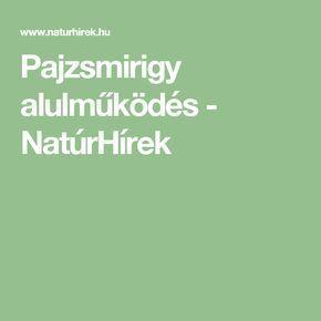 Pajzsmirigy alulműködés - NatúrHírek