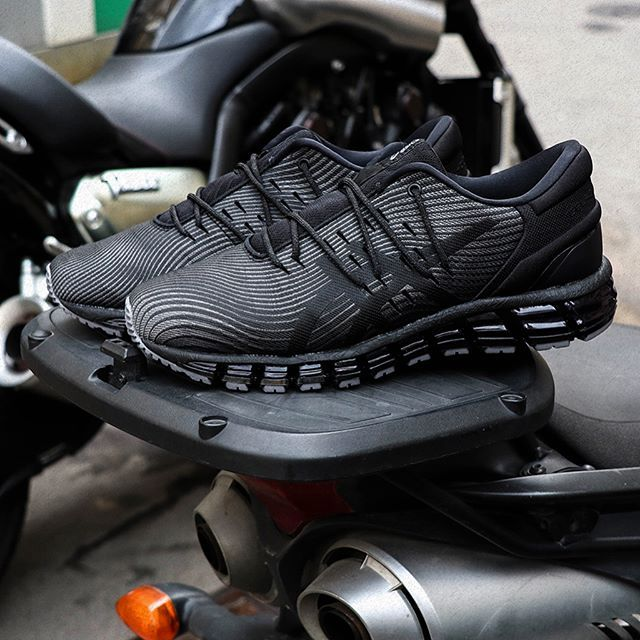 ALL BLACK Asics Gel Quantum 360 | Asics noir, Sneakers, Baskets