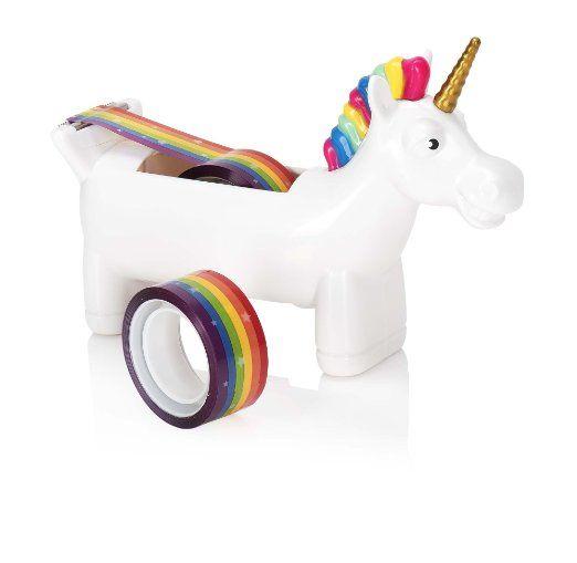 Unicorn Tape Dispenser. 18 Cool School Supplies that Every Girl Needs