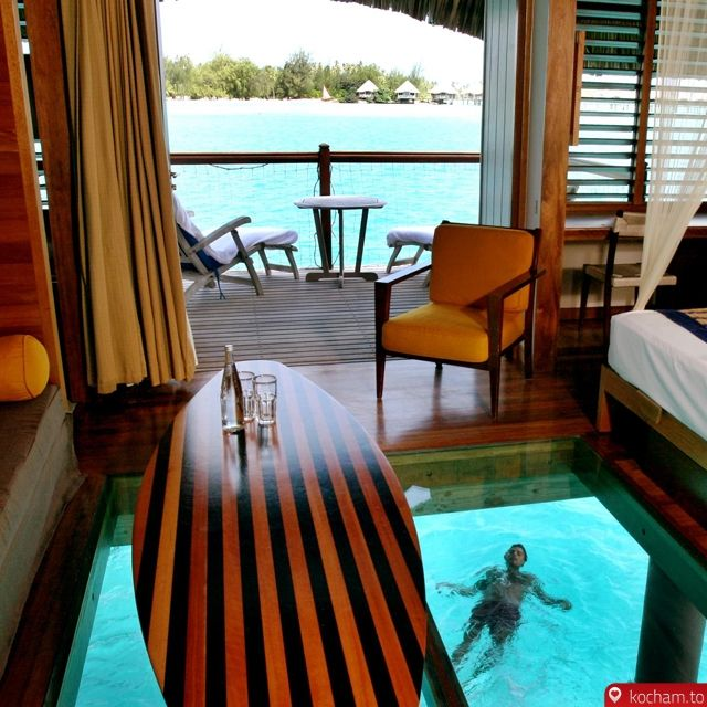 Kocham.to - Noc w Overwater Bungalow @ Le Meridien Bora Bora