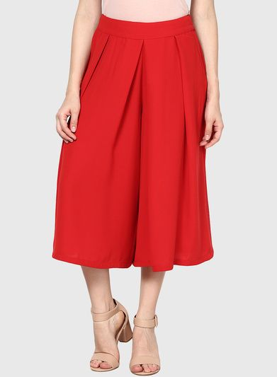 Buy Harpa Red Flared Skirt for Women Online India, Best Prices, Reviews | HA585WA67WMUINDFAS