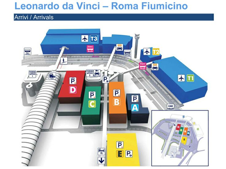 Fiumicino Airport Map Rome Leonardo Da Vinci Express is