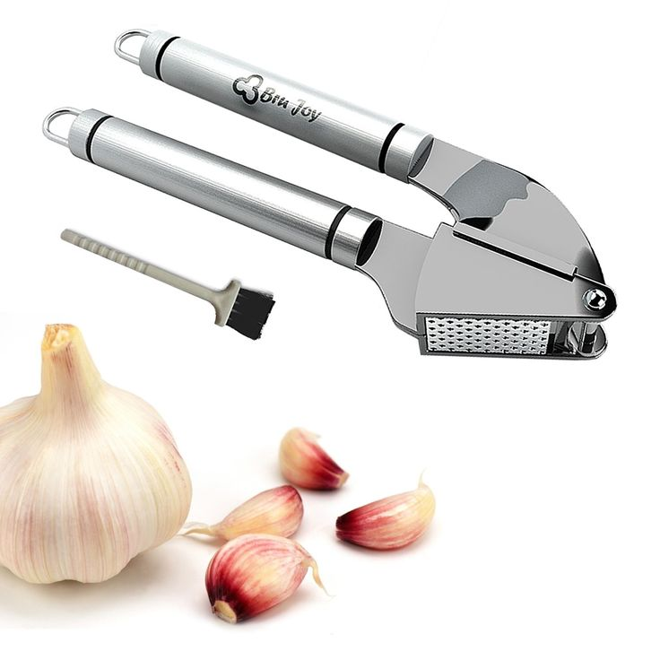 EASY TO USE - No need to peel the garlic!