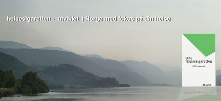 Helsesigaretten er en norsk elektronisk sigarett