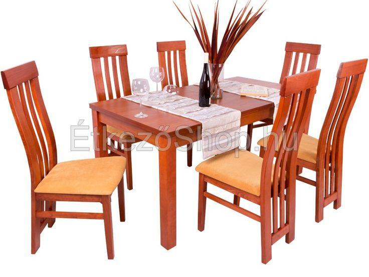 DivNyBertaLara 6 személyes bővíthető étkezőgarnitúra 6