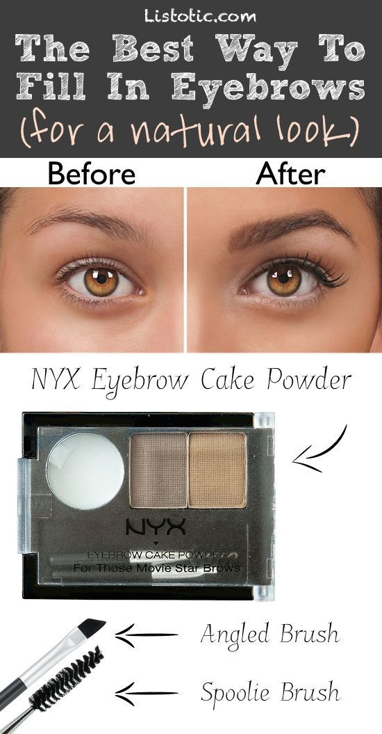 #8. Filling in eyebrows excessively... Here's how to FIX it! | 20 Beauty Mistakes You Didn't Know You Were Making