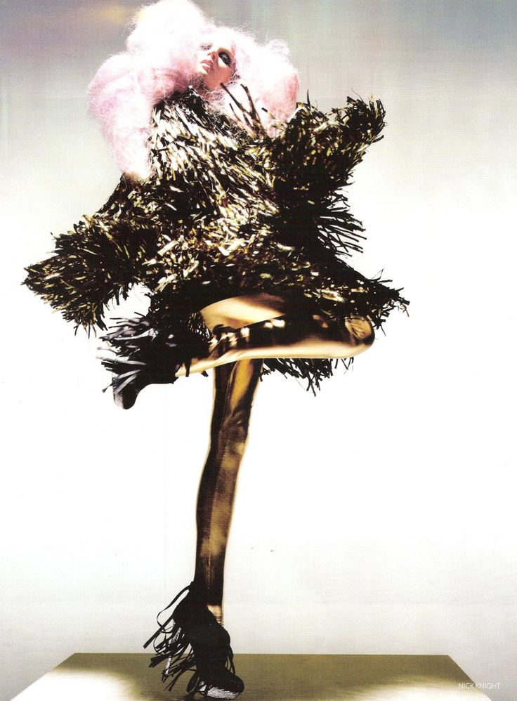 """""""Unbelievable Fashion"""": Lily Donaldson by Nick Knight for Vogue UK Dec 2008"""
