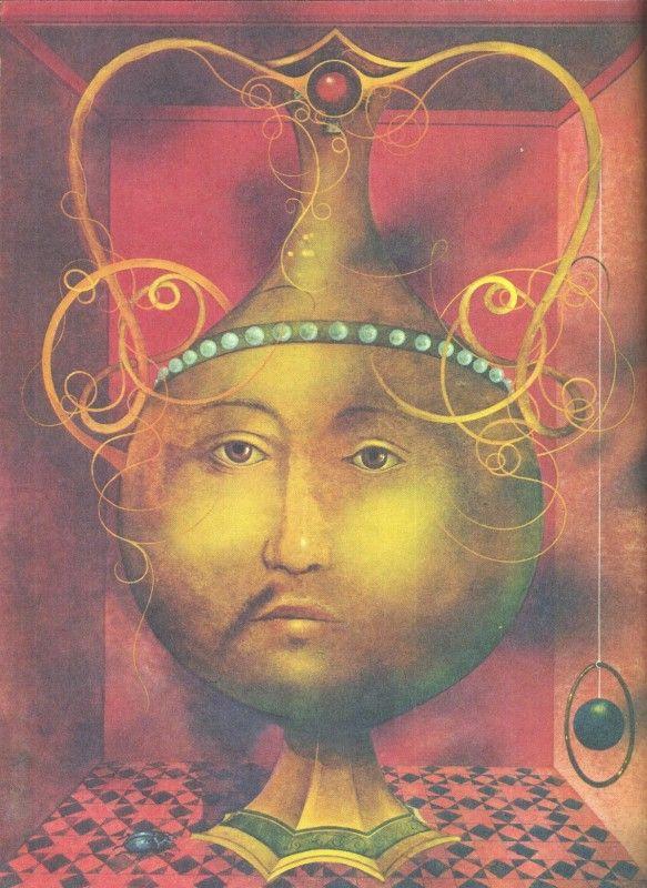 Le Roi de la rivière dorée, John Ruskin, illustré par Josef Vylet'al, tchèque. Gründ 1979.
