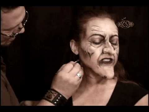 Creepy Witch Makeup Tutorial