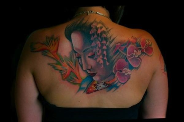 100 best images about Geisha Tattoos on Pinterest